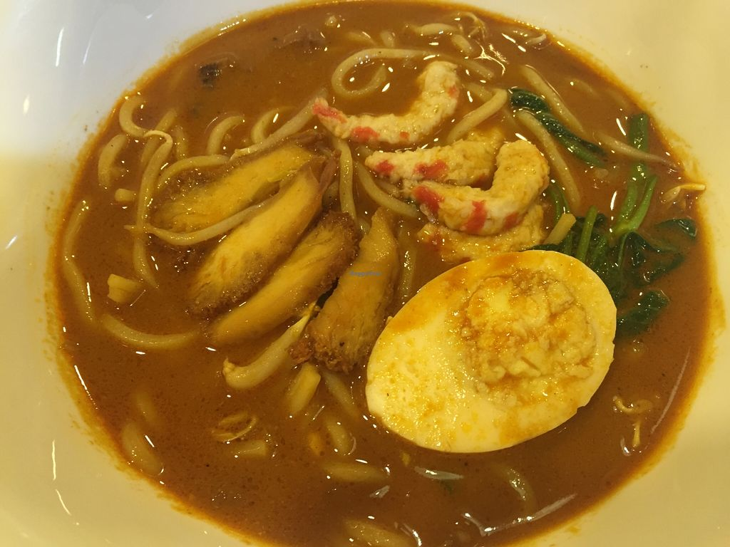 """Photo of CLOSED: Happy Garden Vege Cafe - Damansara Perdana  by <a href=""""/members/profile/FynnChan"""">FynnChan</a> <br/>Prawn noodle, yum yum  <br/> May 23, 2016  - <a href='/contact/abuse/image/74103/150487'>Report</a>"""