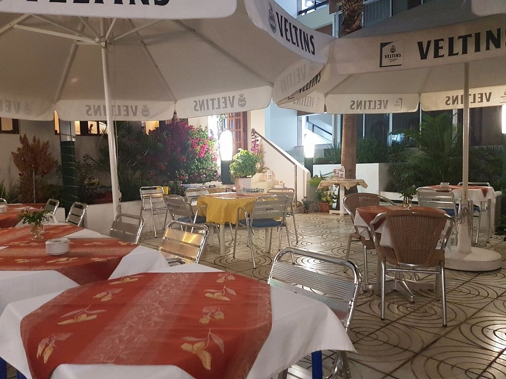 """Photo of Meson Aleman Atlantis  by <a href=""""/members/profile/MissEni78"""">MissEni78</a> <br/>Quite patio <br/> November 1, 2016  - <a href='/contact/abuse/image/74104/185908'>Report</a>"""