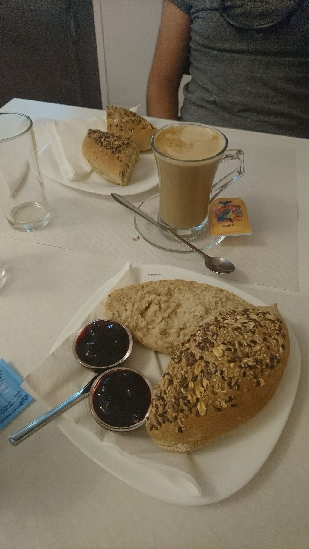 "Photo of Veganeats Caffe  by <a href=""/members/profile/TanyaClapper"">TanyaClapper</a> <br/>bread with coffe <br/> October 7, 2017  - <a href='/contact/abuse/image/74111/312610'>Report</a>"