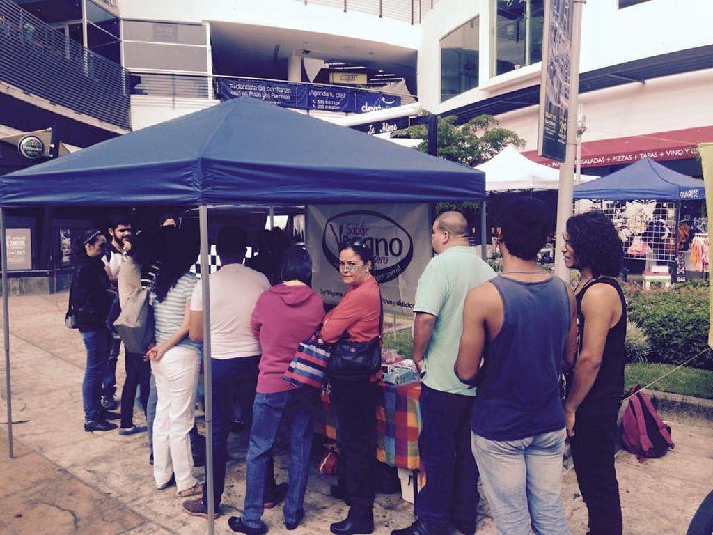 Photo of Sabor Vegano - Food Booth  by Sabor Vegano Mexico <br/>Mercado EcoImpacta  <br/> May 23, 2016  - <a href='/contact/abuse/image/74127/150523'>Report</a>