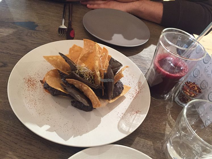 """Photo of Farmacy  by <a href=""""/members/profile/Veganmeower"""">Veganmeower</a> <br/>nachos  <br/> October 27, 2016  - <a href='/contact/abuse/image/74162/184725'>Report</a>"""