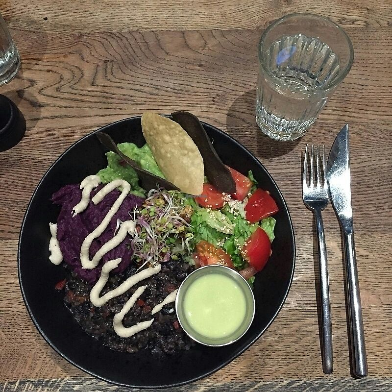 """Photo of Farmacy  by <a href=""""/members/profile/Sassyvegan"""">Sassyvegan</a> <br/>Mexican Bowl <br/> November 28, 2017  - <a href='/contact/abuse/image/74162/330059'>Report</a>"""
