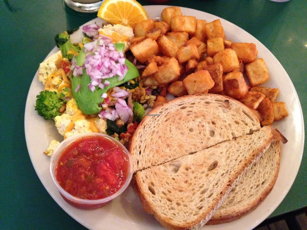 """Photo of Crazy Burger  by <a href=""""/members/profile/Poppy29"""">Poppy29</a> <br/>vegan scrambled tofu <br/> September 16, 2015  - <a href='/contact/abuse/image/7421/117987'>Report</a>"""