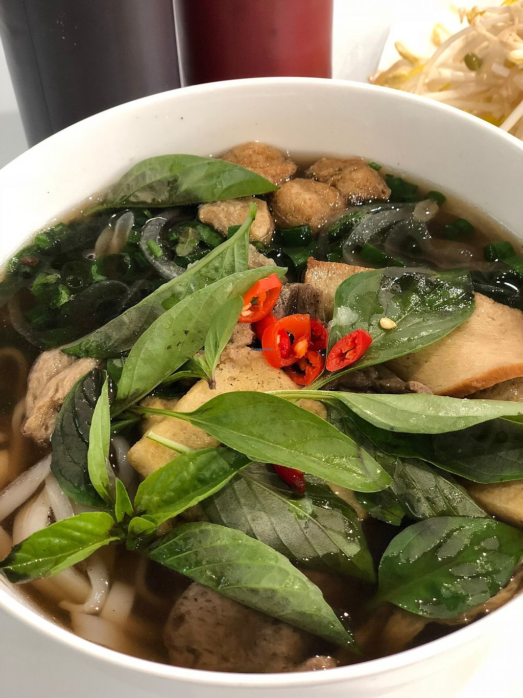 "Photo of Loving Hut  by <a href=""/members/profile/happy.vegan"">happy.vegan</a> <br/>Best vegan Pho in Sydney at Loving Hut Fairfield <br/> February 15, 2018  - <a href='/contact/abuse/image/74225/359550'>Report</a>"