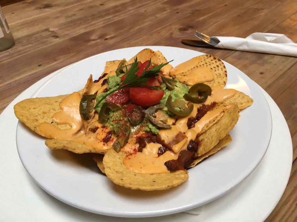 """Photo of Whispers Cafe  by <a href=""""/members/profile/Yolanda"""">Yolanda</a> <br/>vegan nachos  <br/> March 31, 2017  - <a href='/contact/abuse/image/74234/242912'>Report</a>"""
