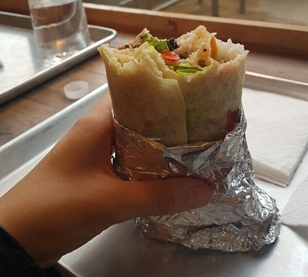 "Photo of Burrito Madre - Terazije  by <a href=""/members/profile/urshkafif"">urshkafif</a> <br/>vegan burrito  <br/> October 17, 2016  - <a href='/contact/abuse/image/74244/243494'>Report</a>"