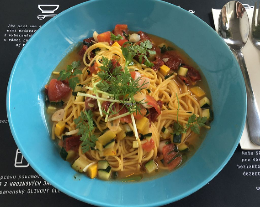 """Photo of Dobre Bistro  by <a href=""""/members/profile/Kejtka"""">Kejtka</a> <br/>spaghetti  <br/> October 14, 2016  - <a href='/contact/abuse/image/74290/243741'>Report</a>"""