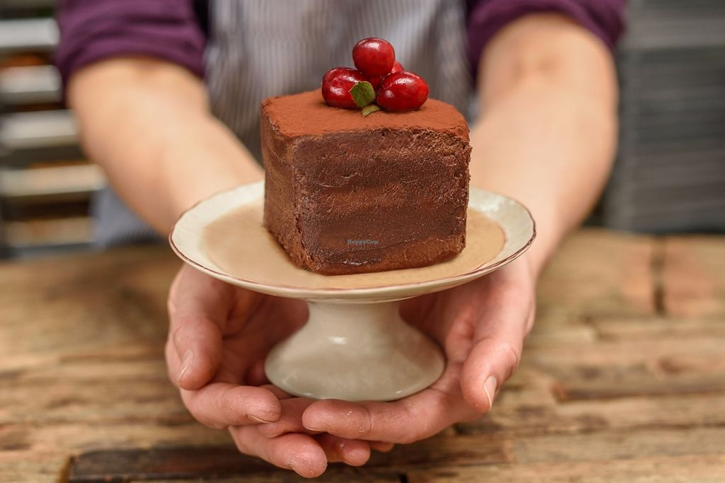 """Photo of Body & Soul Bakeshop  by <a href=""""/members/profile/Body%26SoulBakeshop"""">Body&SoulBakeshop</a> <br/>Vegan, gluten-free chocolate cake! <br/> May 29, 2016  - <a href='/contact/abuse/image/74307/151349'>Report</a>"""