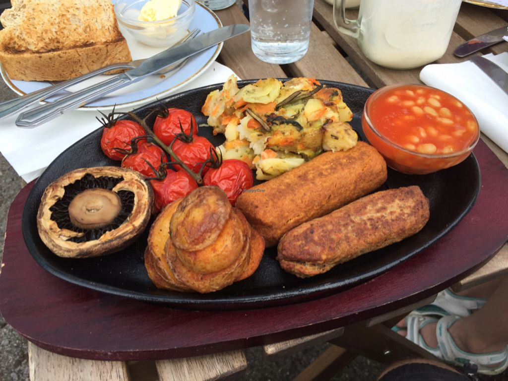 """Photo of CLOSED: Dolly's Vintage Tearoom  by <a href=""""/members/profile/Chris_D"""">Chris_D</a> <br/>Vegan Cooked Breakfast  <br/> July 10, 2016  - <a href='/contact/abuse/image/74331/158930'>Report</a>"""