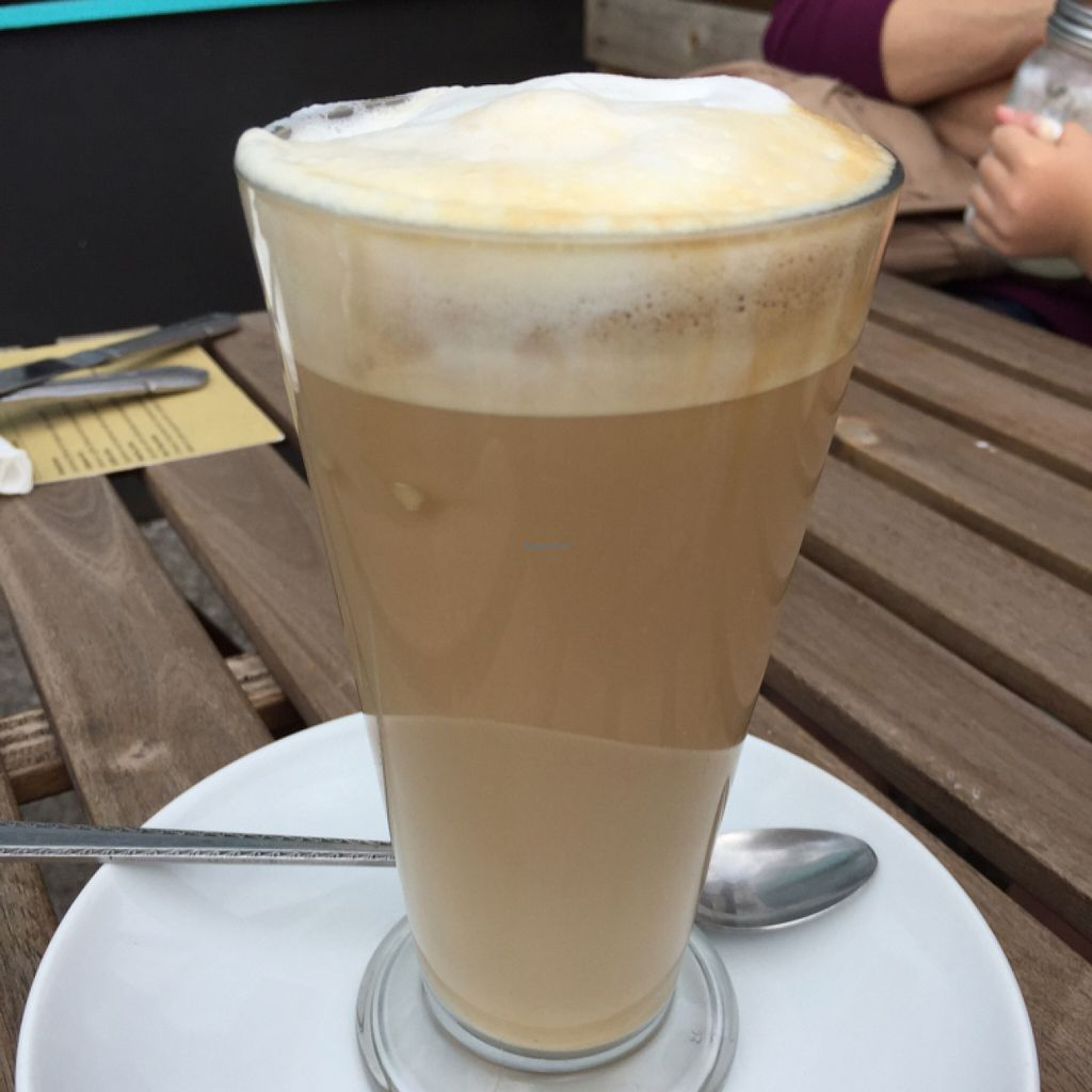 """Photo of CLOSED: Dolly's Vintage Tearoom  by <a href=""""/members/profile/Chris_D"""">Chris_D</a> <br/>Soya Latte <br/> July 10, 2016  - <a href='/contact/abuse/image/74331/158931'>Report</a>"""