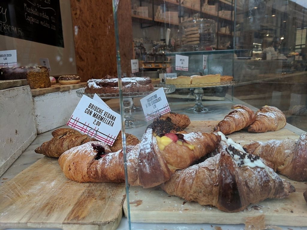 """Photo of Panini Durini  by <a href=""""/members/profile/Ccnum10"""">Ccnum10</a> <br/>Vegan pastries on the left - delicious! <br/> April 4, 2017  - <a href='/contact/abuse/image/74383/244625'>Report</a>"""
