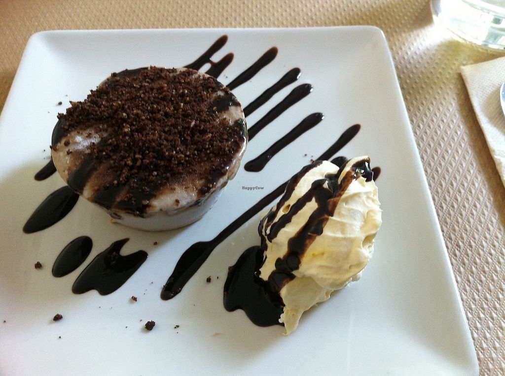 """Photo of Nomit  by <a href=""""/members/profile/Vegane_Globetrotterin"""">Vegane_Globetrotterin</a> <br/>ice cream cake as the dessert of the menu of the day <br/> July 2, 2017  - <a href='/contact/abuse/image/74396/275912'>Report</a>"""