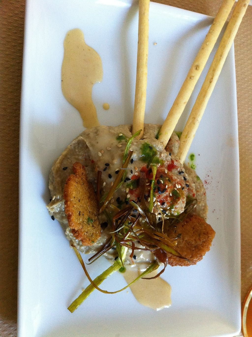 """Photo of Nomit  by <a href=""""/members/profile/Vegane_Globetrotterin"""">Vegane_Globetrotterin</a> <br/>homemade spread of artichokes as the starter of the menu of the day <br/> July 2, 2017  - <a href='/contact/abuse/image/74396/275918'>Report</a>"""