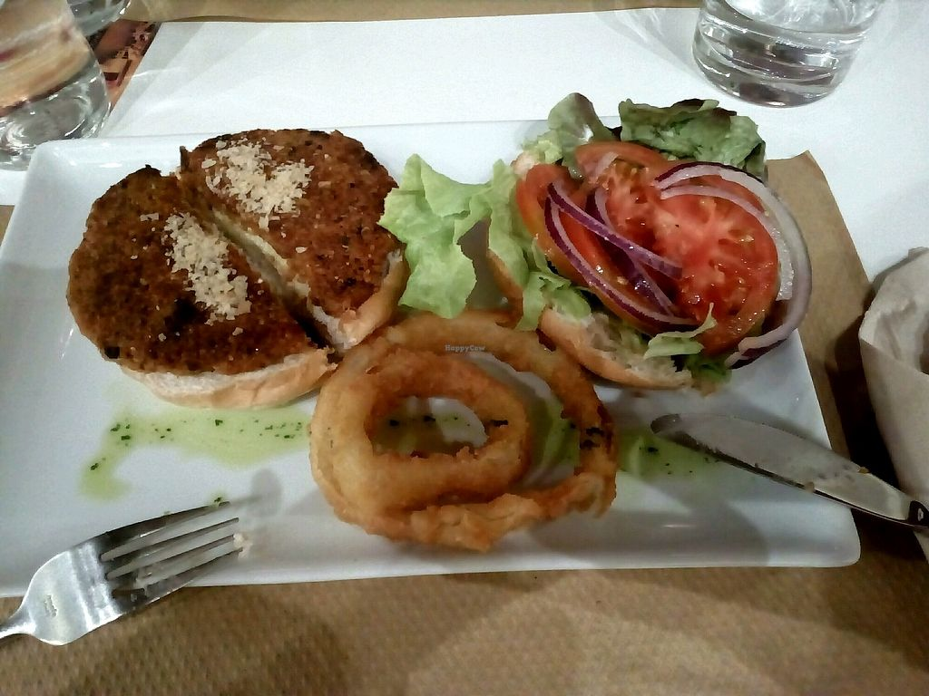 """Photo of Nomit  by <a href=""""/members/profile/wyrd"""">wyrd</a> <br/>red lentils and quinoa burger <br/> October 12, 2017  - <a href='/contact/abuse/image/74396/314661'>Report</a>"""