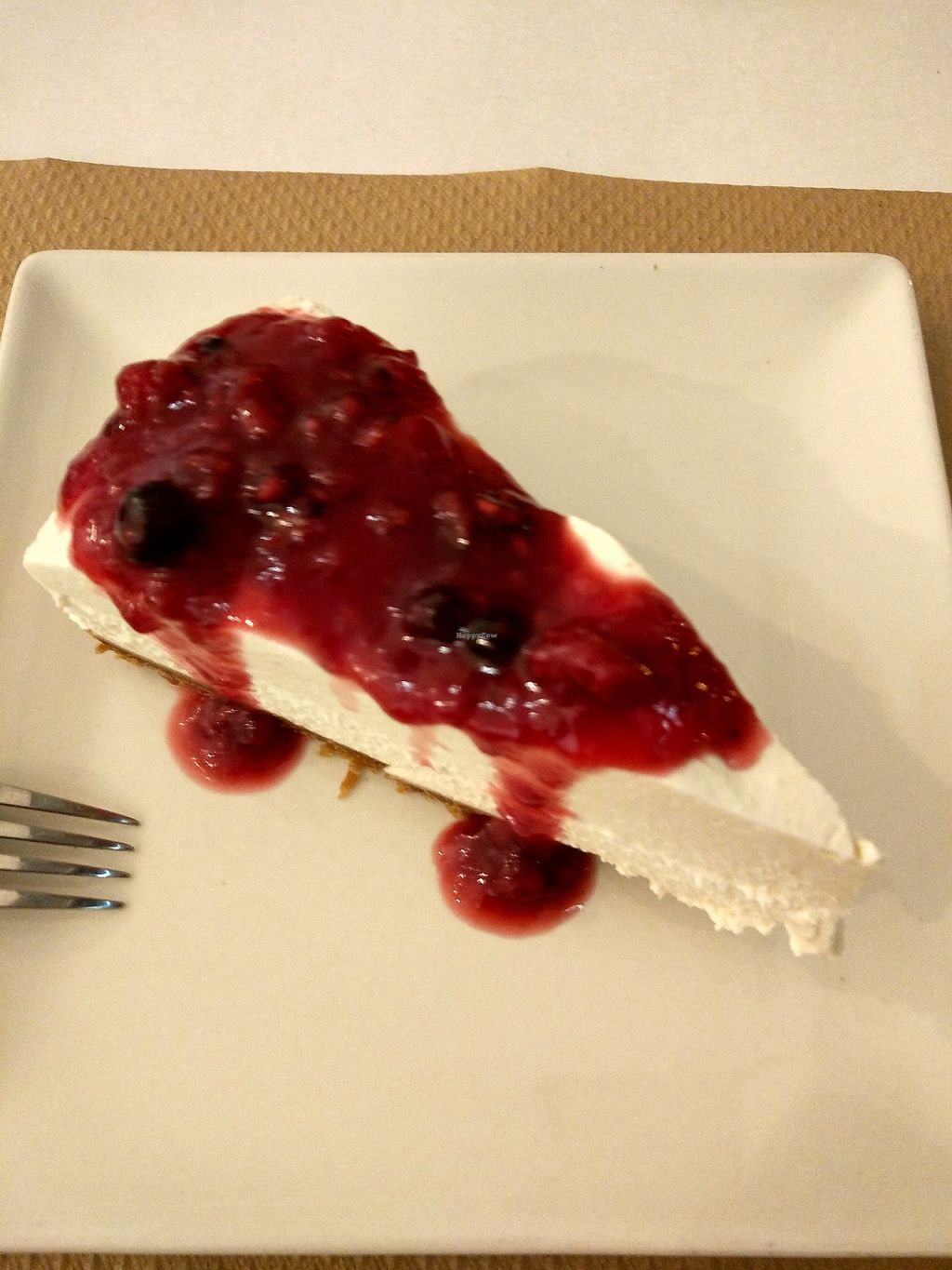 """Photo of Nomit  by <a href=""""/members/profile/SoniaR"""">SoniaR</a> <br/>vegan cheese cake <br/> December 26, 2017  - <a href='/contact/abuse/image/74396/339104'>Report</a>"""