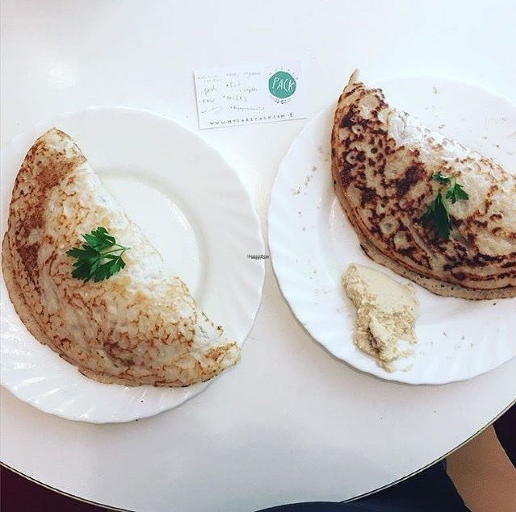 """Photo of CLOSED: Mysore Pack  by <a href=""""/members/profile/JuliaGyulai"""">JuliaGyulai</a> <br/>Vegan Masala Dosa, their vegan South Indian speciality <br/> August 4, 2016  - <a href='/contact/abuse/image/74403/165302'>Report</a>"""
