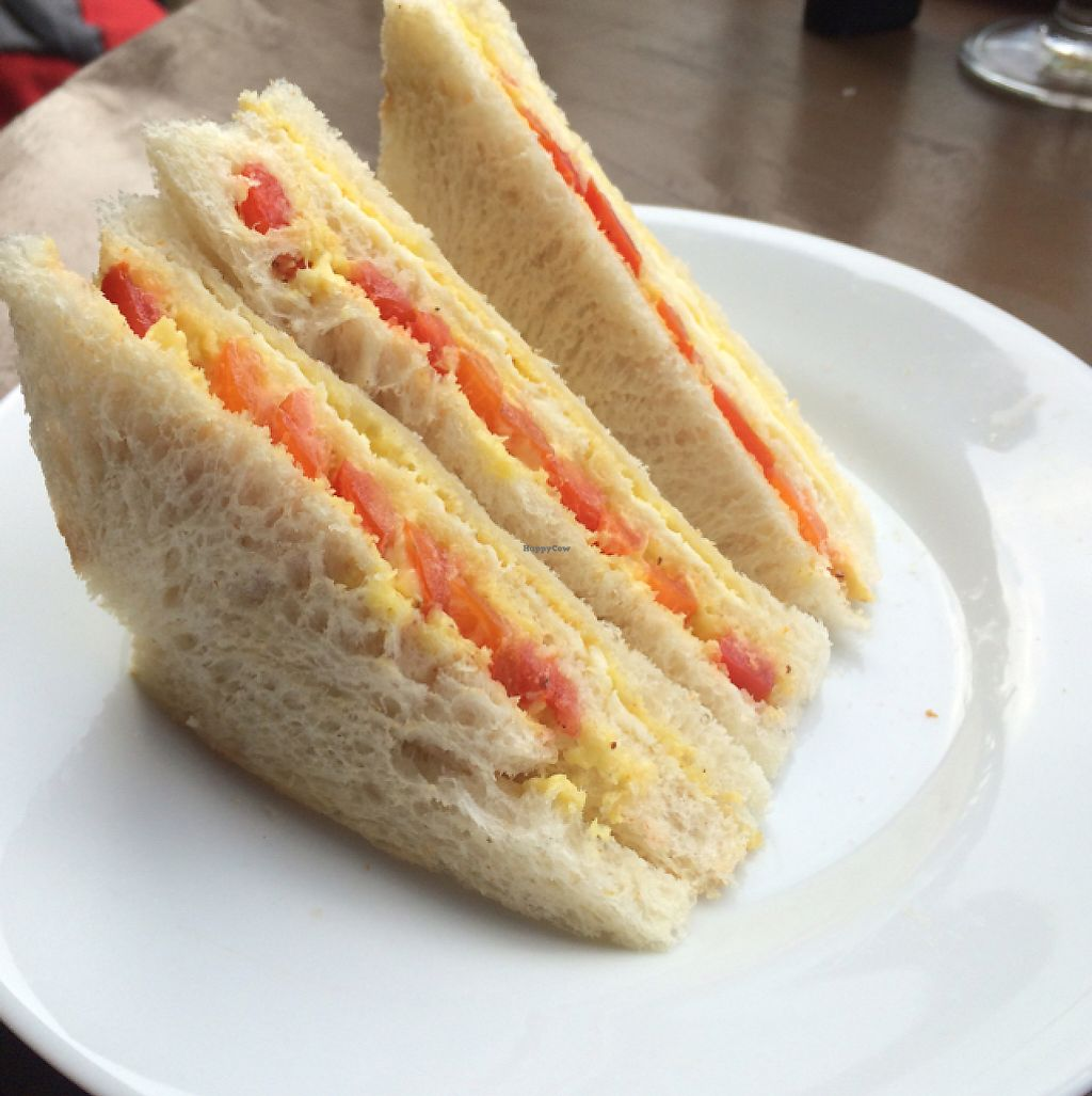 """Photo of Jade Green Tea Centre & Restaurant  by <a href=""""/members/profile/serrarose"""">serrarose</a> <br/>cheese and tomato sandwich  <br/> May 1, 2017  - <a href='/contact/abuse/image/74420/254485'>Report</a>"""