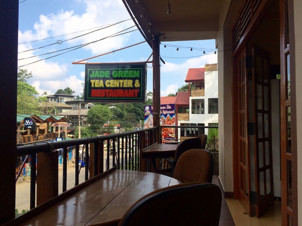 """Photo of Jade Green Tea Centre & Restaurant  by <a href=""""/members/profile/serrarose"""">serrarose</a> <br/>balcony seating  <br/> May 1, 2017  - <a href='/contact/abuse/image/74420/254490'>Report</a>"""