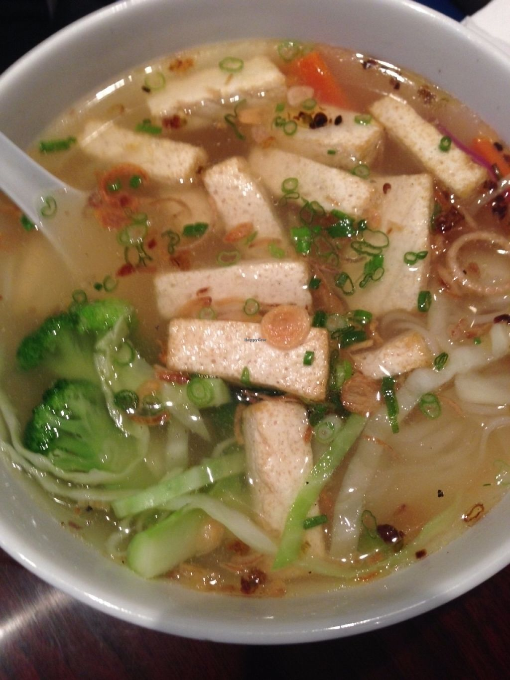 """Photo of Huong Viet  by <a href=""""/members/profile/CarlaGolden"""">CarlaGolden</a> <br/>Vegan Pho <br/> June 7, 2016  - <a href='/contact/abuse/image/74431/224030'>Report</a>"""