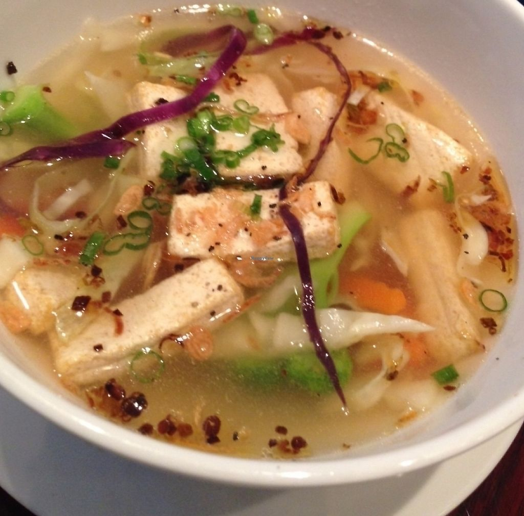 """Photo of Huong Viet  by <a href=""""/members/profile/CarlaGolden"""">CarlaGolden</a> <br/>Vegan Tofu Soup <br/> June 7, 2016  - <a href='/contact/abuse/image/74431/224033'>Report</a>"""