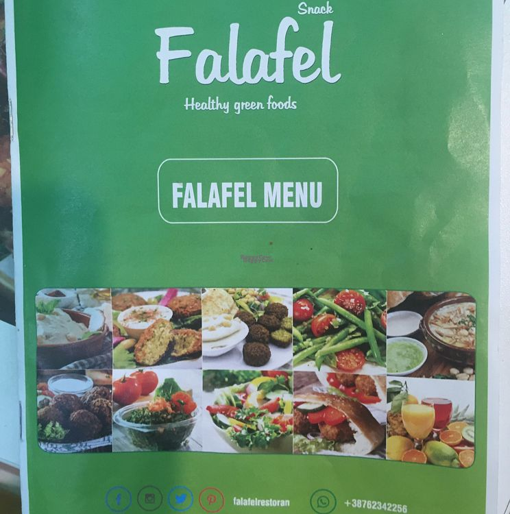 """Photo of Falafel  by <a href=""""/members/profile/Jameskille"""">Jameskille</a> <br/>menu <br/> August 27, 2016  - <a href='/contact/abuse/image/74438/171850'>Report</a>"""