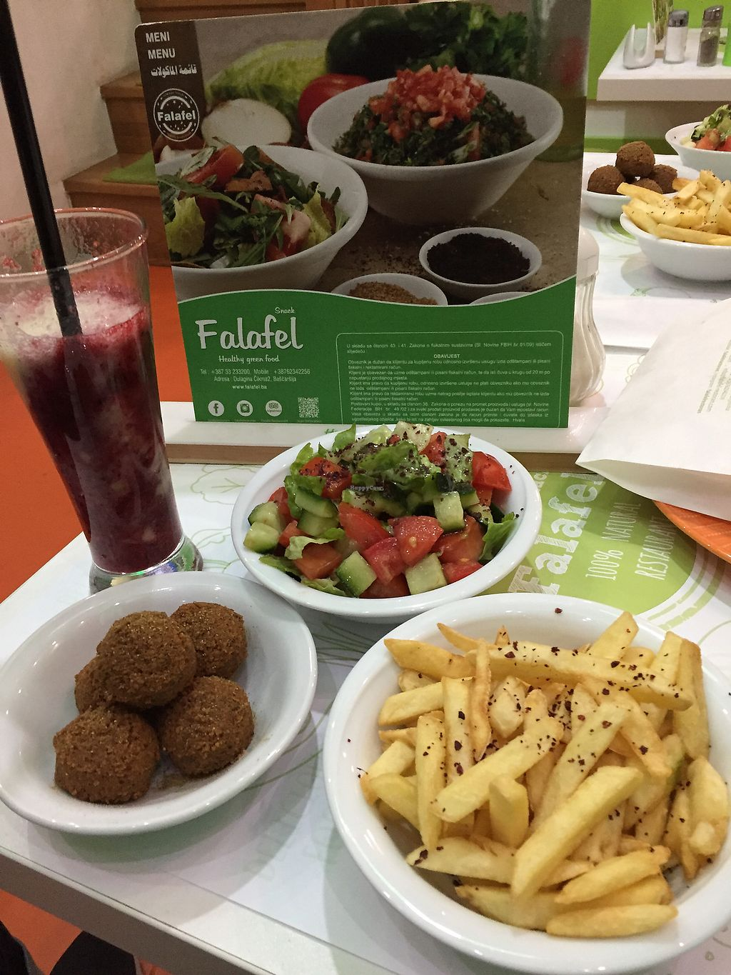 """Photo of Falafel  by <a href=""""/members/profile/danhosk"""">danhosk</a> <br/>Very good! <br/> January 7, 2018  - <a href='/contact/abuse/image/74438/344113'>Report</a>"""