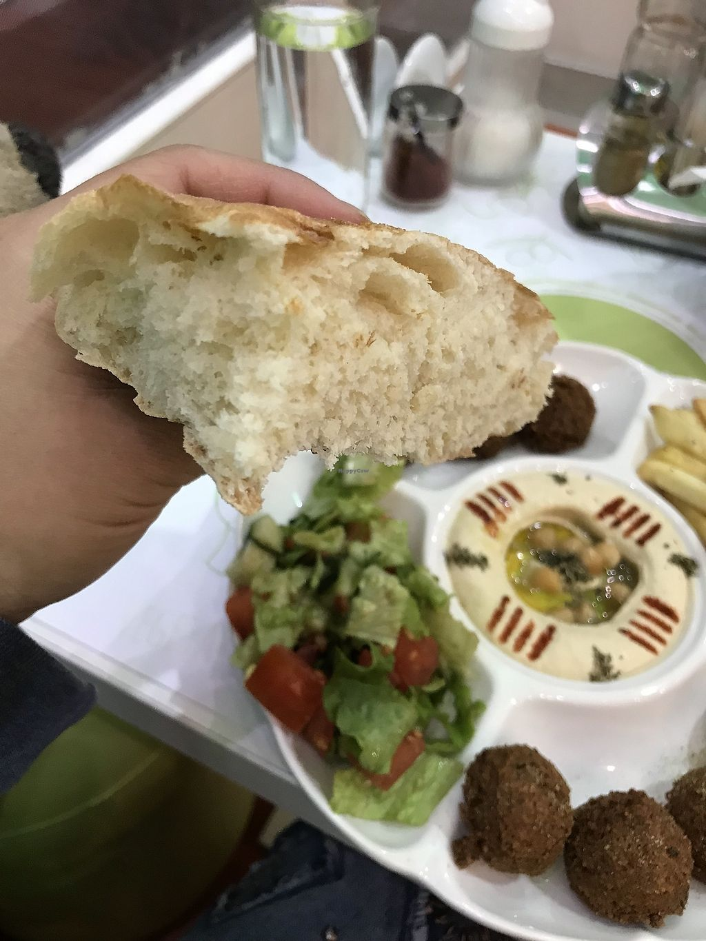 """Photo of Falafel  by <a href=""""/members/profile/balau"""">balau</a> <br/>wow, bread! <br/> February 3, 2018  - <a href='/contact/abuse/image/74438/354379'>Report</a>"""