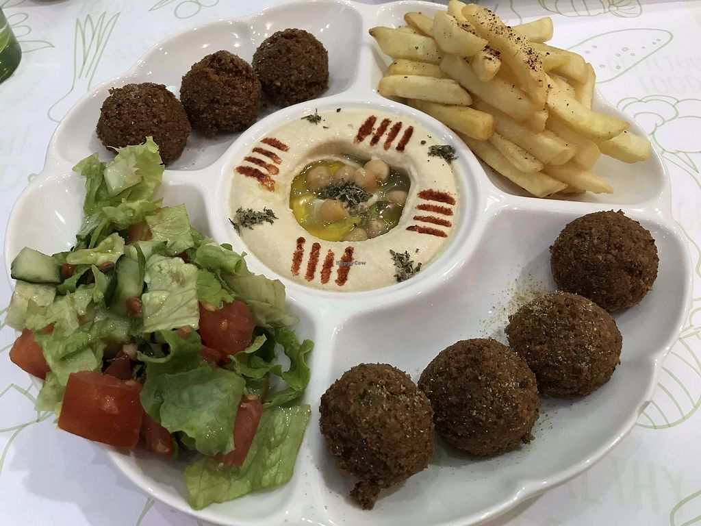 """Photo of Falafel  by <a href=""""/members/profile/balau"""">balau</a> <br/>falafel platter! <br/> February 3, 2018  - <a href='/contact/abuse/image/74438/354380'>Report</a>"""