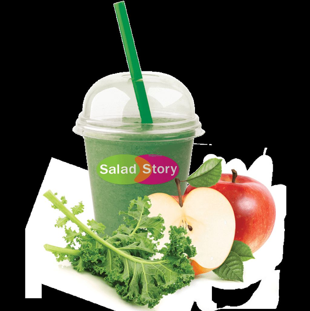 """Photo of Salad Story  by <a href=""""/members/profile/Vera%20Peres"""">Vera Peres</a> <br/>Kale smoothie <br/> July 25, 2016  - <a href='/contact/abuse/image/74460/162137'>Report</a>"""