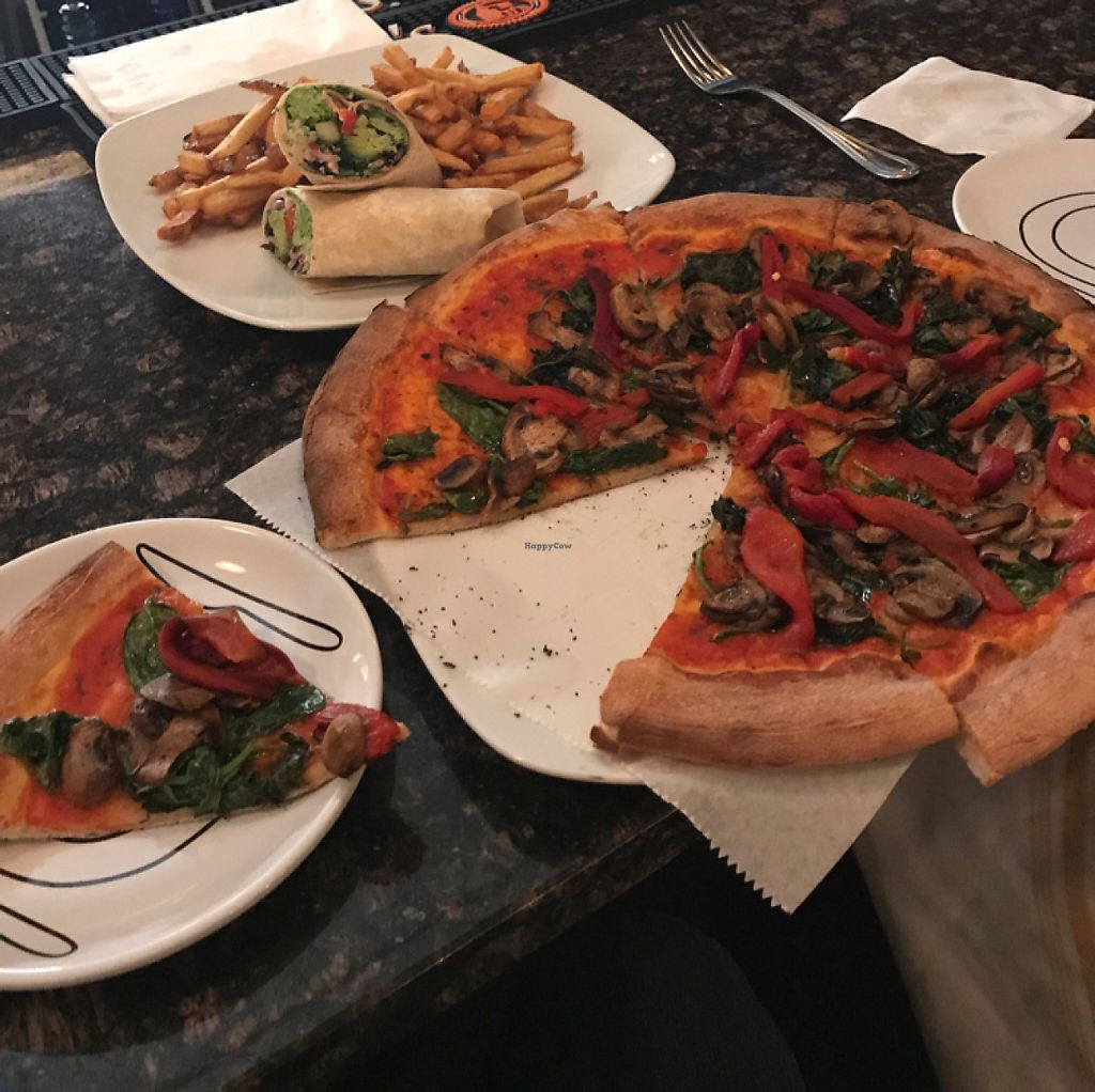 """Photo of CLOSED: Hope Village Kitchen  by <a href=""""/members/profile/carbo500"""">carbo500</a> <br/>Great vegan pizza and the Cauliflower appetizer is a must try <br/> May 20, 2017  - <a href='/contact/abuse/image/74470/260486'>Report</a>"""