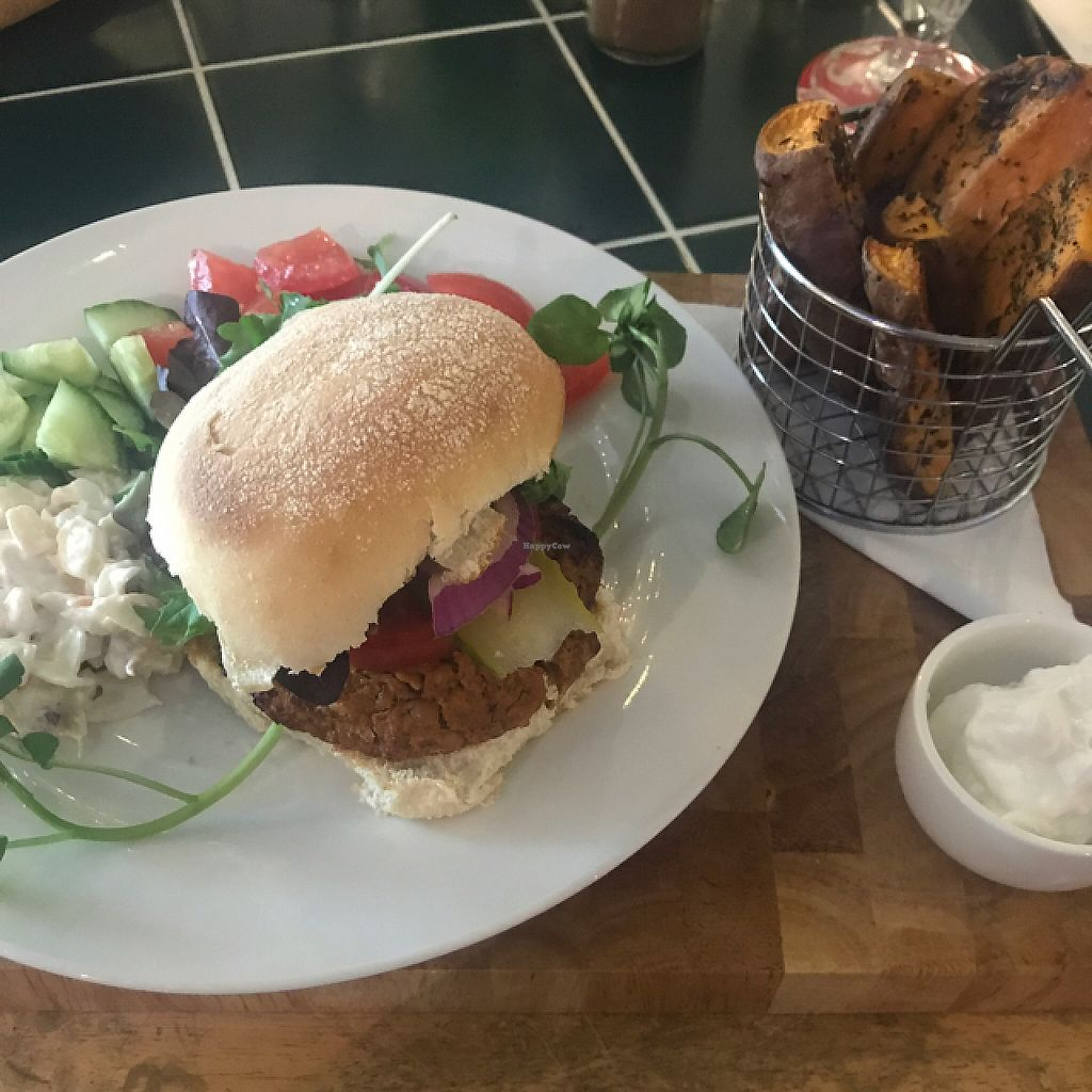 """Photo of Super Natural Kitchen  by <a href=""""/members/profile/BarryDavis"""">BarryDavis</a> <br/>Classic burger <br/> June 5, 2017  - <a href='/contact/abuse/image/74502/266025'>Report</a>"""