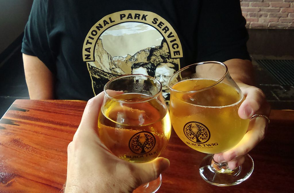 """Photo of Black Twig Cider House  by <a href=""""/members/profile/RobinRaleigh"""">RobinRaleigh</a> <br/>Bull City Ciderworks = yum! <br/> July 5, 2016  - <a href='/contact/abuse/image/74508/157937'>Report</a>"""
