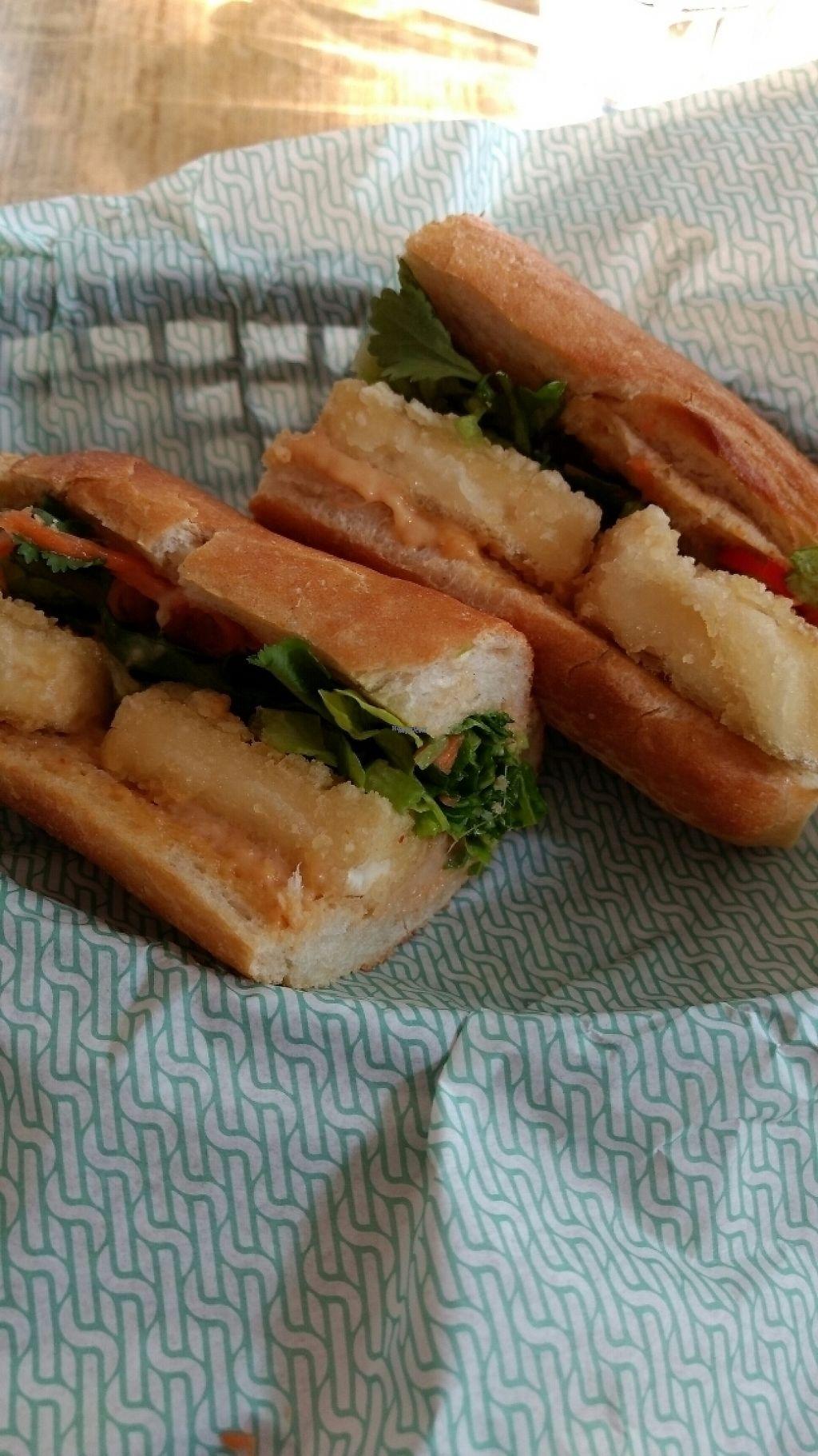 "Photo of Saiko Kitchen  by <a href=""/members/profile/craigmc"">craigmc</a> <br/>crispy tofu baguette <br/> March 9, 2017  - <a href='/contact/abuse/image/74509/234581'>Report</a>"