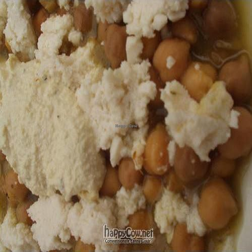 """Photo of Mad Mex  by <a href=""""/members/profile/PennsyltuckyVeggie"""">PennsyltuckyVeggie</a> <br/>Vegan cheese and vegan sour cream on the Chick Pea Chili <br/> August 8, 2011  - <a href='/contact/abuse/image/7452/10005'>Report</a>"""