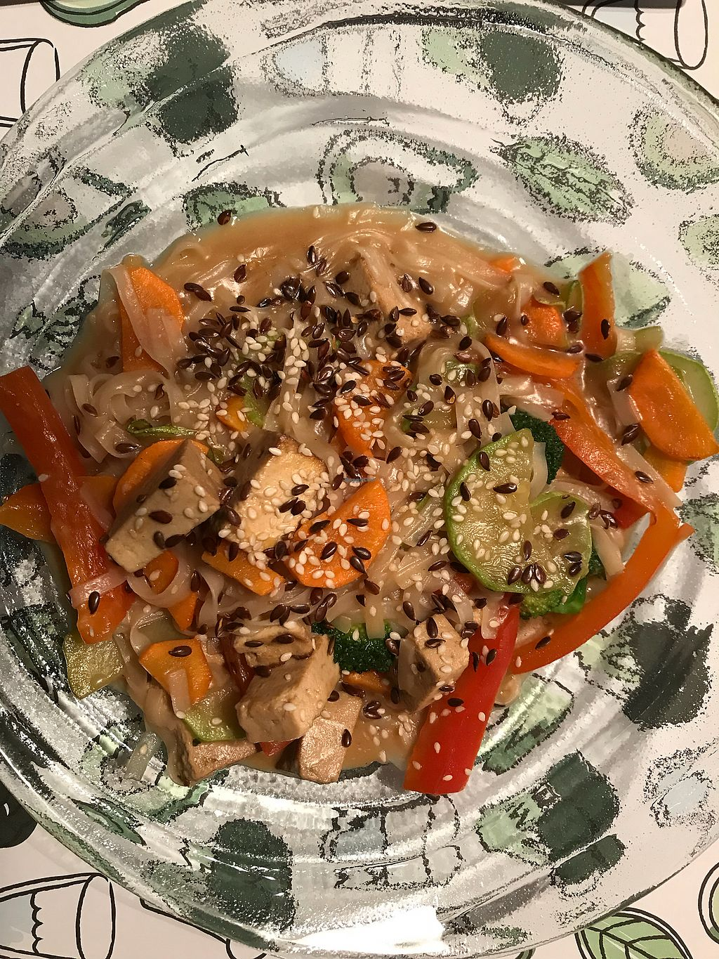 """Photo of True  by <a href=""""/members/profile/IrynaPietrova"""">IrynaPietrova</a> <br/>Rice noodles with vegetables. One of my most favorite dishes here <br/> January 23, 2018  - <a href='/contact/abuse/image/74550/350135'>Report</a>"""