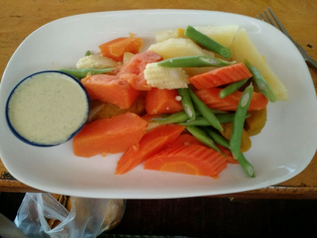 "Photo of Evolution Yogi Cafe  by <a href=""/members/profile/TiffEats"">TiffEats</a> <br/>steamed veggies with side of cashew herb ranch <br/> February 12, 2018  - <a href='/contact/abuse/image/74570/358340'>Report</a>"