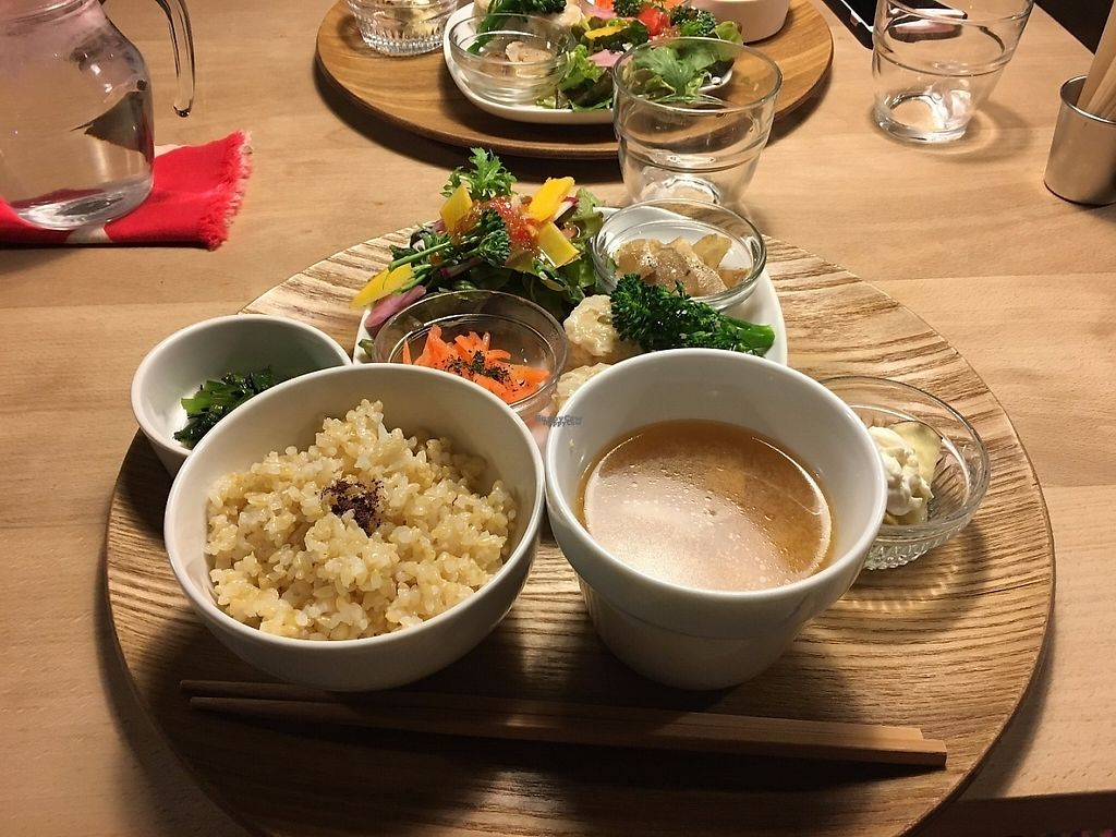 "Photo of Lady Bird Kitchen  by <a href=""/members/profile/graceless02"">graceless02</a> <br/>Small dumplings with soup, rice, and various vegetables <br/> February 27, 2017  - <a href='/contact/abuse/image/74589/230910'>Report</a>"