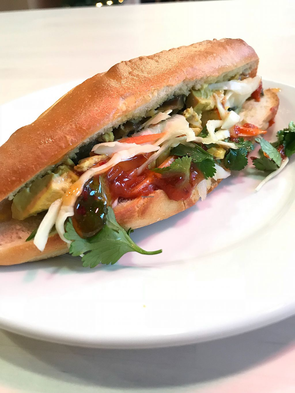 """Photo of Time Banhmi  by <a href=""""/members/profile/schumacher62"""">schumacher62</a> <br/>ninja tofu banh mi! <br/> November 19, 2017  - <a href='/contact/abuse/image/74592/326943'>Report</a>"""