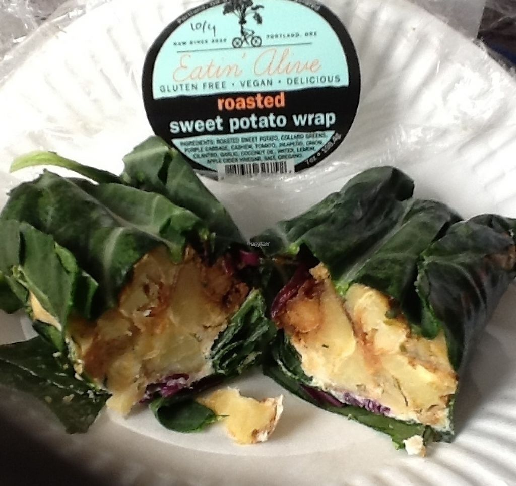 "Photo of Eatin Alive  by <a href=""/members/profile/MizzB"">MizzB</a> <br/>Delicious sweet potato wrap; so good I bought two <br/> October 1, 2016  - <a href='/contact/abuse/image/74603/221641'>Report</a>"