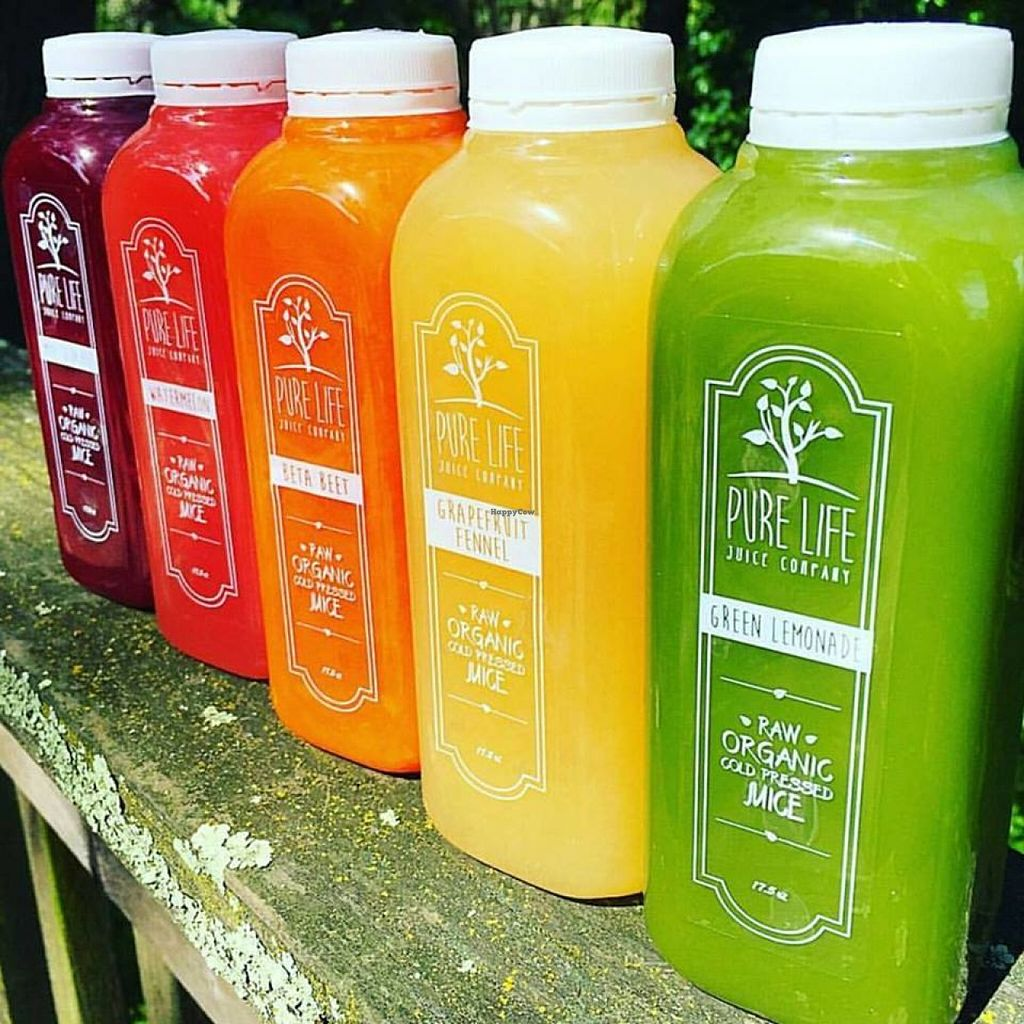 """Photo of Pure Life Juice Company - Palladio  by <a href=""""/members/profile/community"""">community</a> <br/>fresh juices  <br/> June 10, 2016  - <a href='/contact/abuse/image/74609/153216'>Report</a>"""
