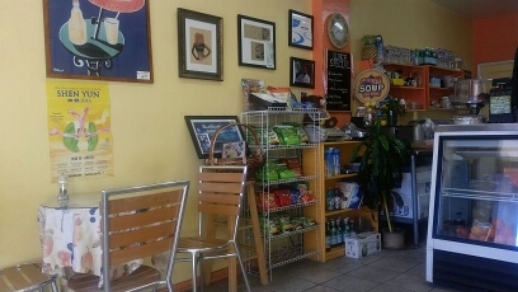 """Photo of Paradise Juice and Deli  by <a href=""""/members/profile/kenvegan"""">kenvegan</a> <br/>inside <br/> February 2, 2016  - <a href='/contact/abuse/image/7464/134740'>Report</a>"""