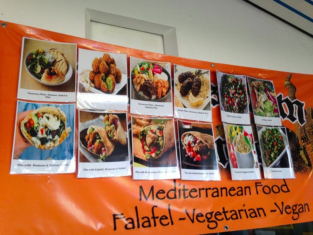 "Photo of Jerusalem Express - Food Stand  by <a href=""/members/profile/sophieschaber"">sophieschaber</a> <br/>menu <br/> June 5, 2016  - <a href='/contact/abuse/image/74651/152438'>Report</a>"