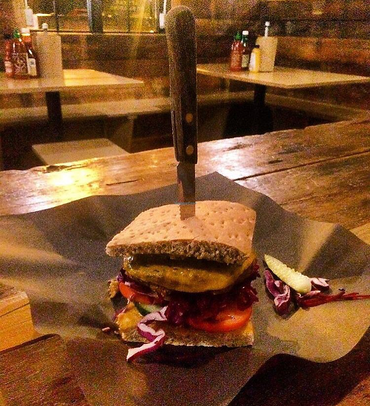 """Photo of Boon Burger Cafe  by <a href=""""/members/profile/Sanja"""">Sanja</a> <br/>Yogi Burger <br/> February 8, 2018  - <a href='/contact/abuse/image/74657/356543'>Report</a>"""