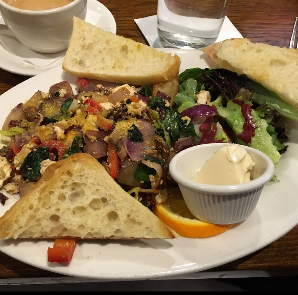 """Photo of Coppi's Organic Restaurant  by <a href=""""/members/profile/AimeeS"""">AimeeS</a> <br/>Vegan scramble of some sort :) <br/> November 20, 2016  - <a href='/contact/abuse/image/74663/192524'>Report</a>"""