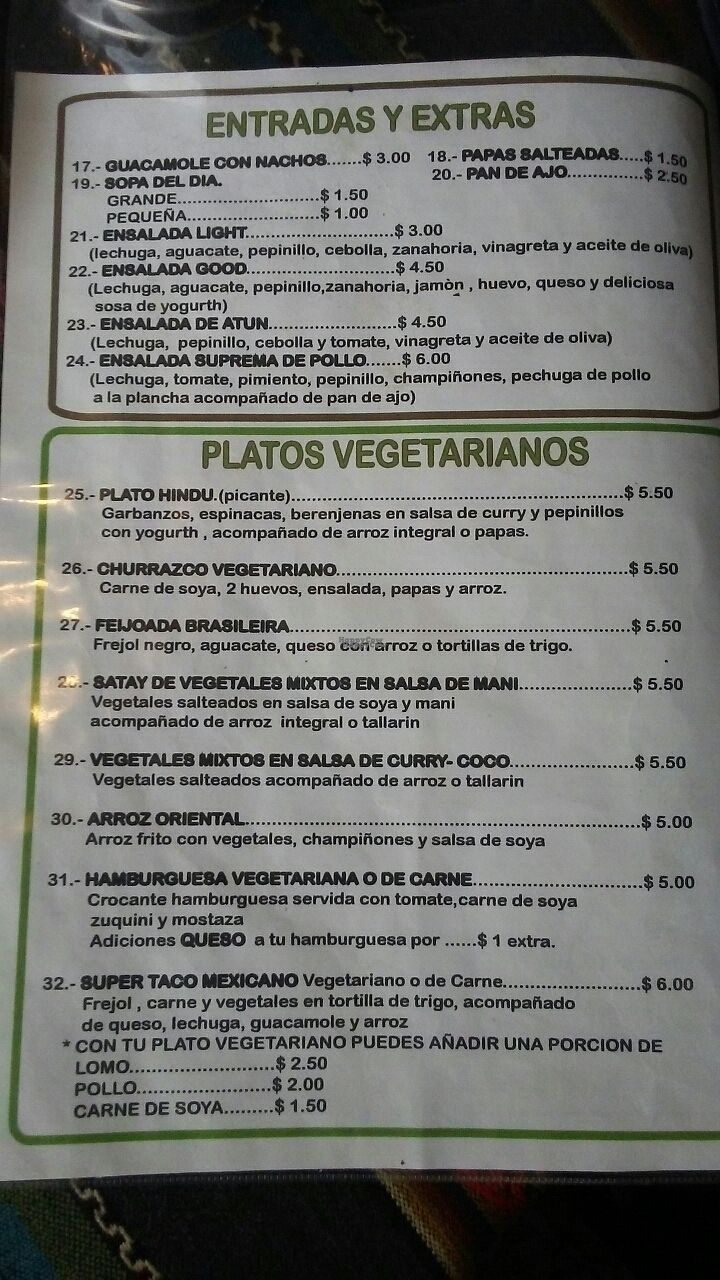 """Photo of Cafe Good  by <a href=""""/members/profile/courtneysli"""">courtneysli</a> <br/>vegetarian menu <br/> September 24, 2016  - <a href='/contact/abuse/image/74665/177765'>Report</a>"""
