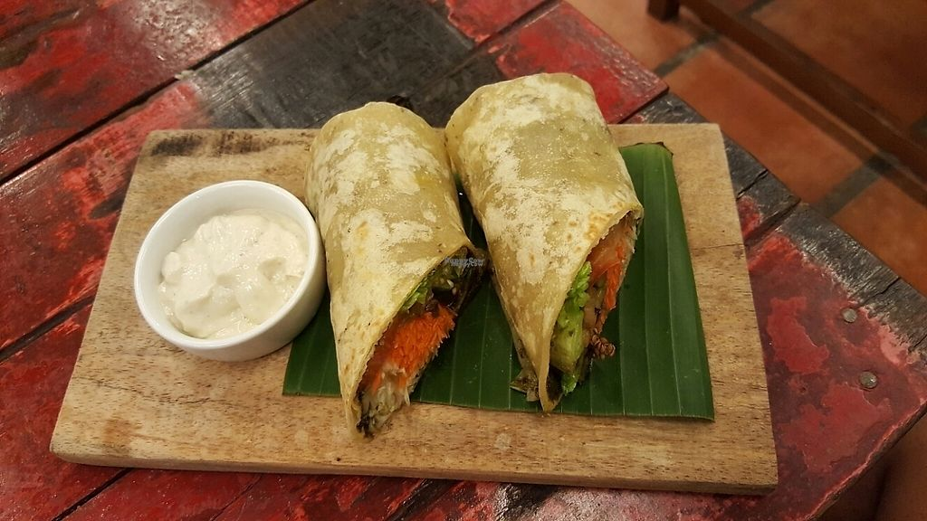 Photo of Justlife Cafe  by Raphael_Dane <br/>Pesto Wrap <br/> December 9, 2016  - <a href='/contact/abuse/image/74667/198777'>Report</a>