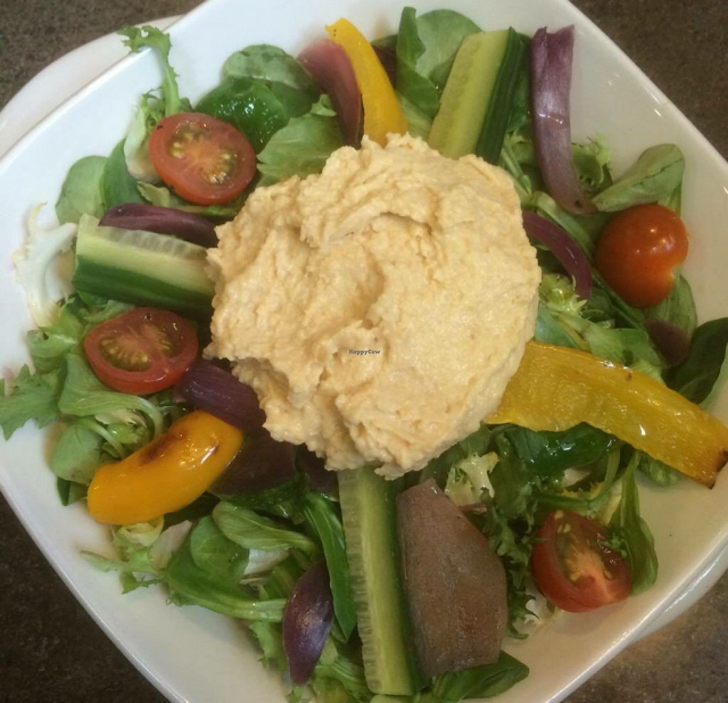 "Photo of Boswells Coffee  by <a href=""/members/profile/VeggieFromSpace"">VeggieFromSpace</a> <br/>vegan option of hummus and olive oil salad <br/> June 6, 2016  - <a href='/contact/abuse/image/74685/152491'>Report</a>"