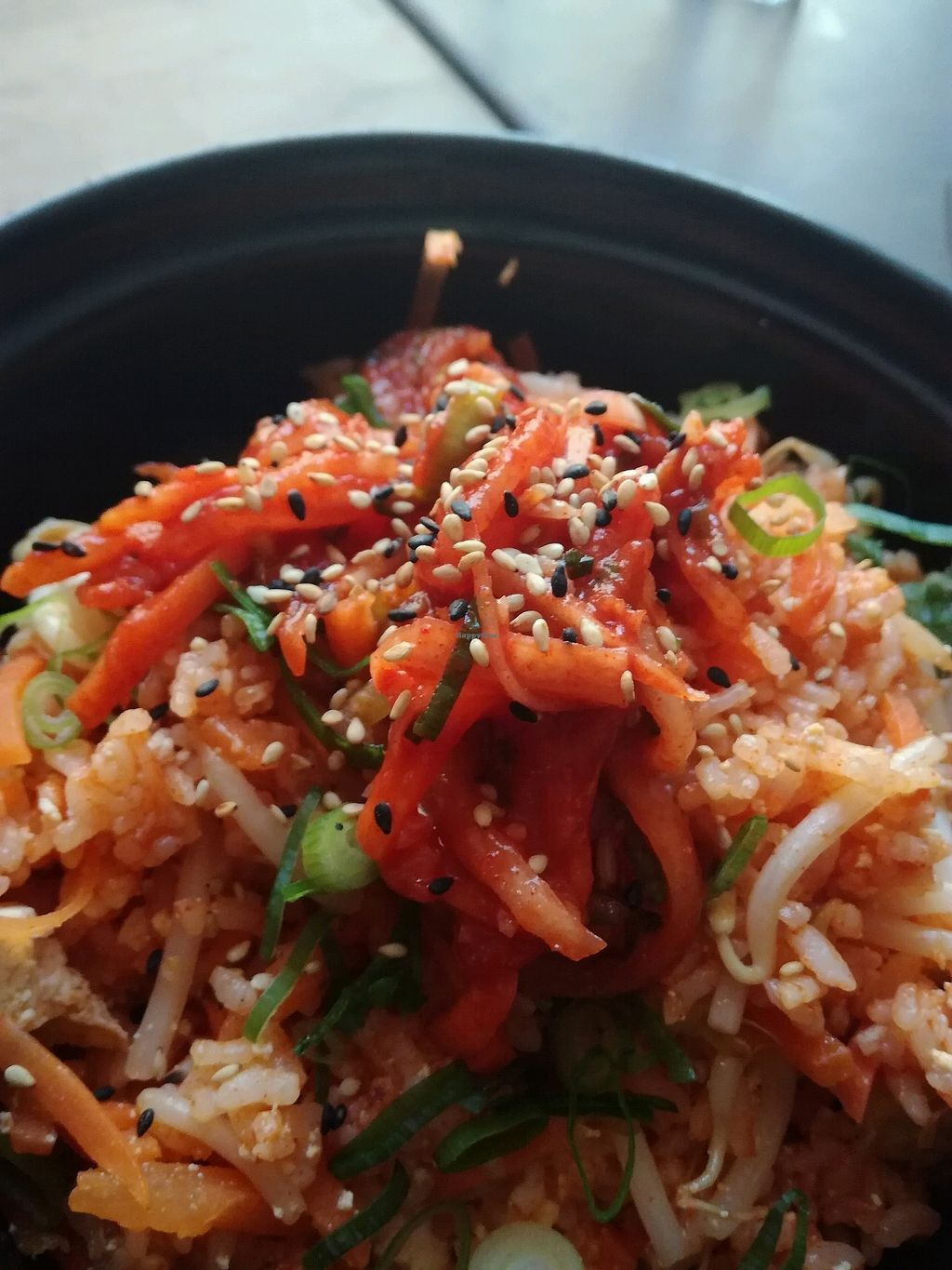 """Photo of Monsun Noodlebar  by <a href=""""/members/profile/EvaKa"""">EvaKa</a> <br/>Vegan Fried Rice with Kimchi <br/> March 25, 2018  - <a href='/contact/abuse/image/74725/376010'>Report</a>"""