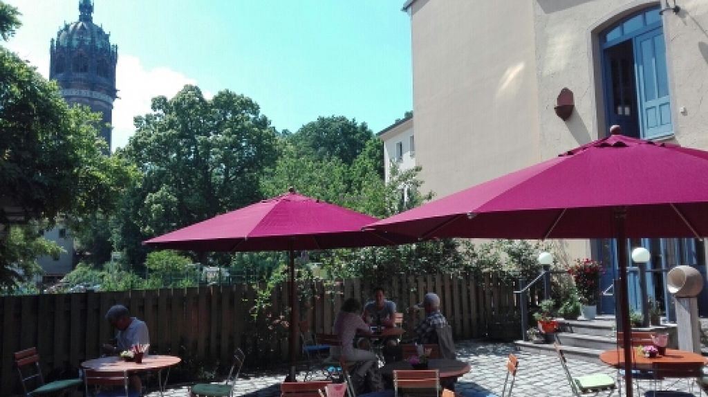 """Photo of VLORA Cafe & Laden im Hof  by <a href=""""/members/profile/Pellinore"""">Pellinore</a> <br/>Hofgarten <br/> June 13, 2016  - <a href='/contact/abuse/image/74728/153746'>Report</a>"""