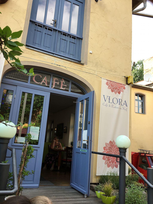 "Photo of VLORA Cafe & Laden im Hof  by <a href=""/members/profile/RafaelBusch"">RafaelBusch</a> <br/>Café Flora <br/> July 9, 2017  - <a href='/contact/abuse/image/74728/278311'>Report</a>"